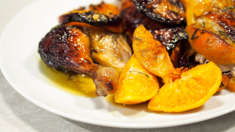 chicken with orange